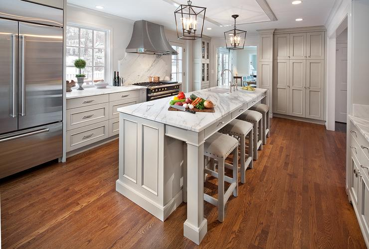 Backless Gray French Bar Stools Design Ideas view full size