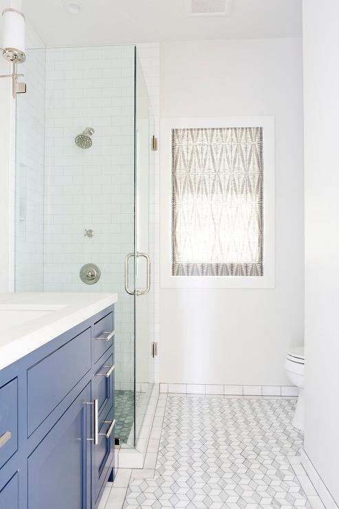 subway tile bathroom baseboards design