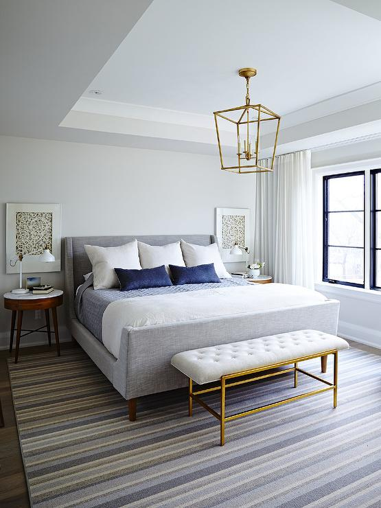 Tray Ceiling Bedroom Transitional Bedroom Tri Traci