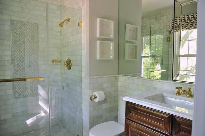 Tiled Bathroom Half Wall half tiled bathroom walls : brightpulse