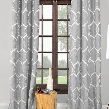 Turquoise Gray And Orange Curtains Products Bookmarks Design Inspiration And Ideas