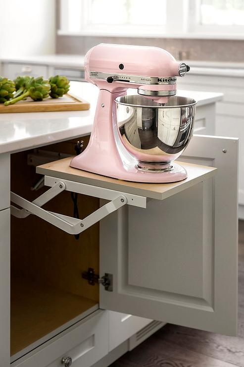 Kitchenaid Mixer Cabinet Design Ideas