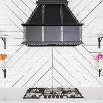 Kitchen Shiplap Backsplash Design Ideas