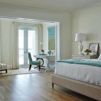 Beach Style Master Bedroom Design Ideas