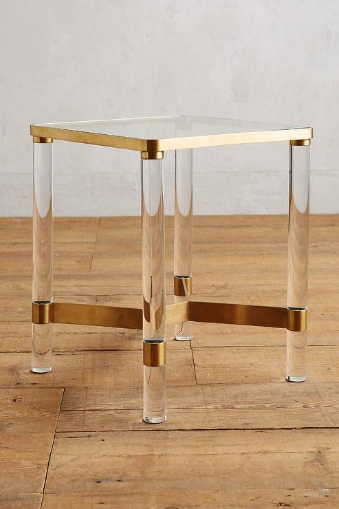 Table Tall Side White