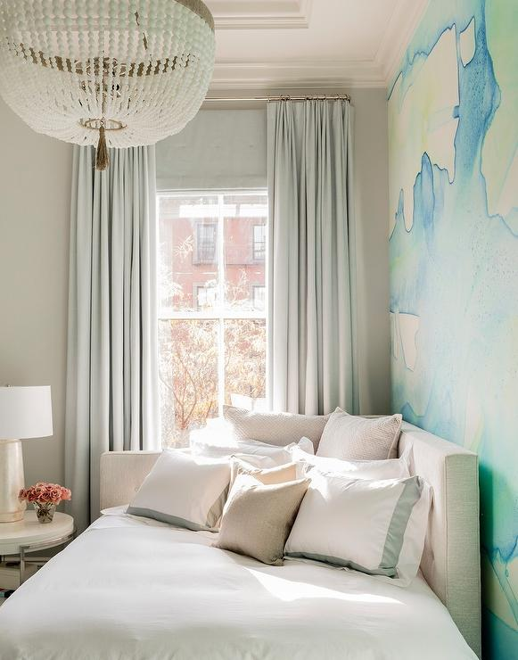 Corner Daybed In Front Of Window Contemporary Bedroom