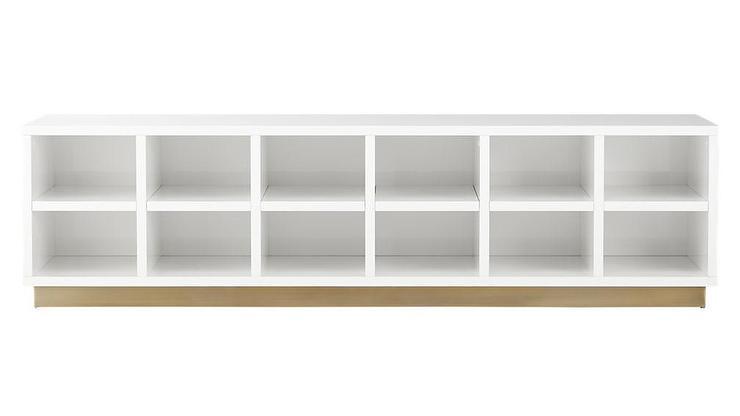 White Shelves Mudroom Storage