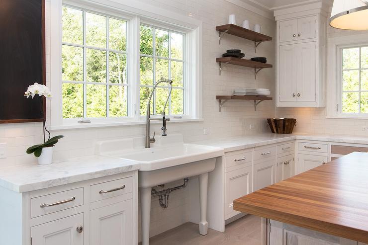freestanding vintage kitchen sink under