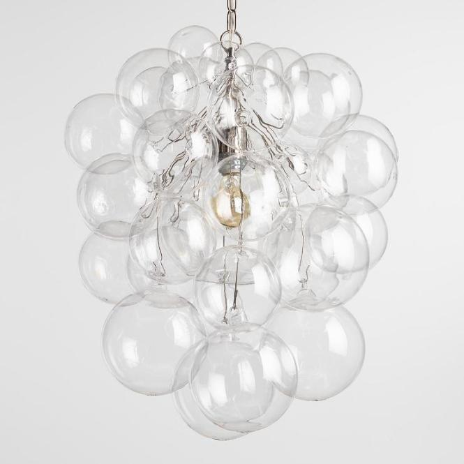 Bubble Glass Orb Chandelier View Full Size