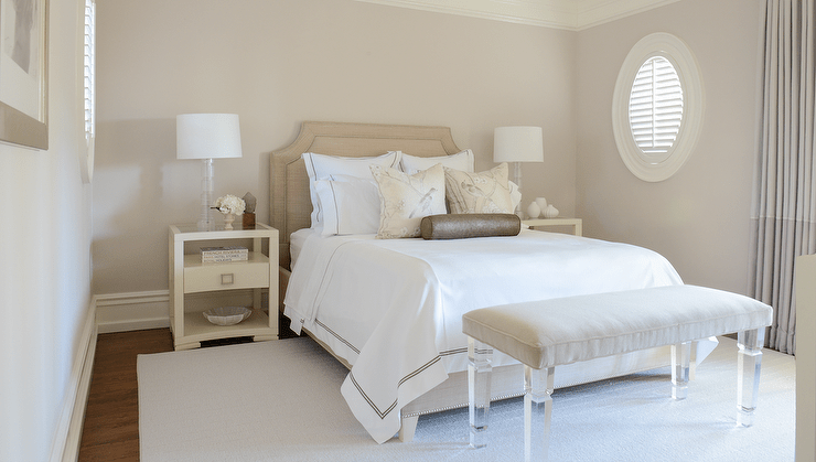 cream white bedroom inspiration design