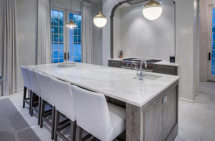 Beautiful Wire Brushed Oak Cabinets Cottage Kitchen Venegas And Company
