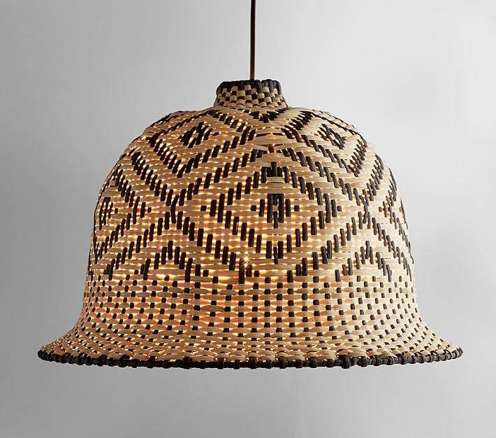 Natural Wood Pendant Light