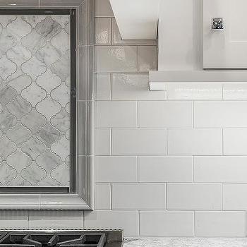 marble arabesque border tiles design ideas