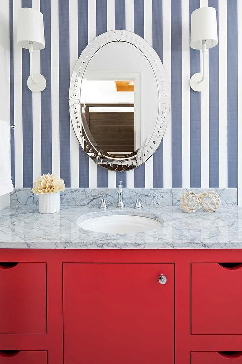 Bathroom Decor Coral
