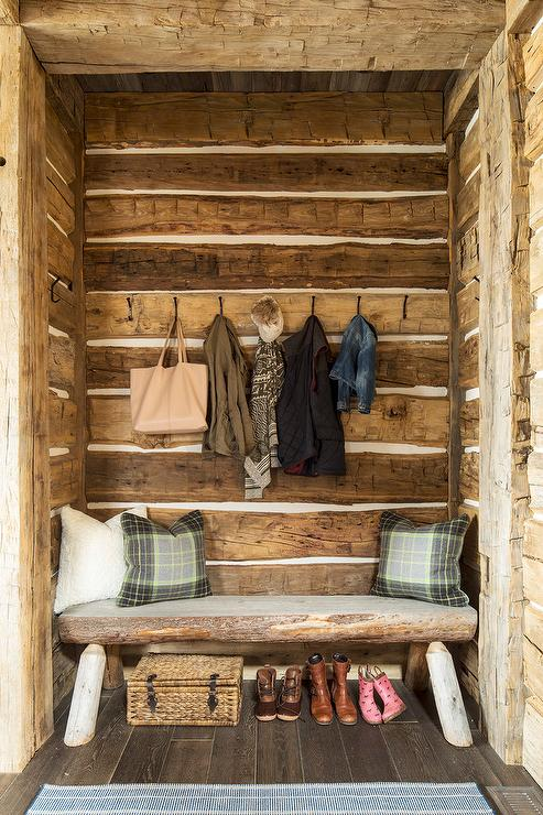 Under Stairs Bench Country Living Room Jennifer