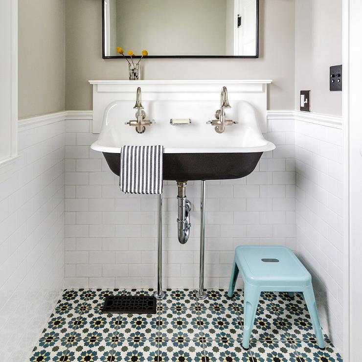 Blue And Yellow Bathroom Sets
