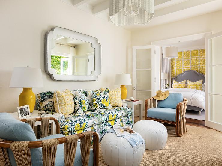 Floral Living Room Furniture Sets