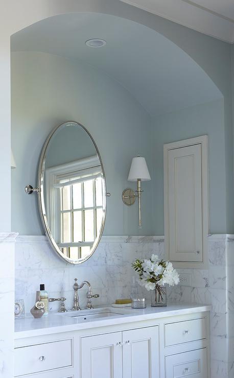 All White Bathroom Decor