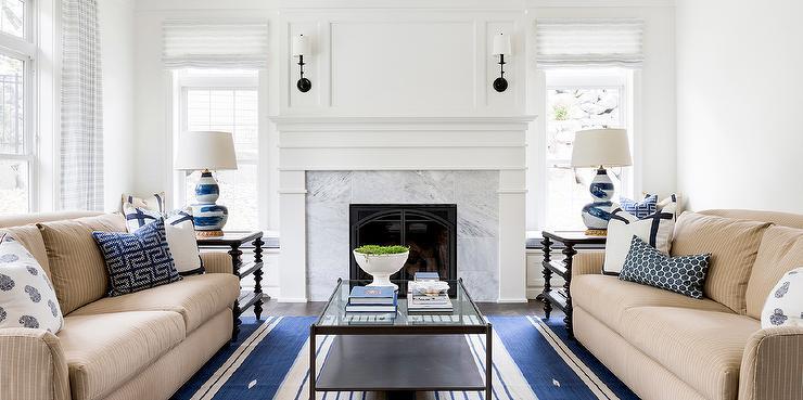 Gray Sofa Contemporary Living Room The Elegant Abode
