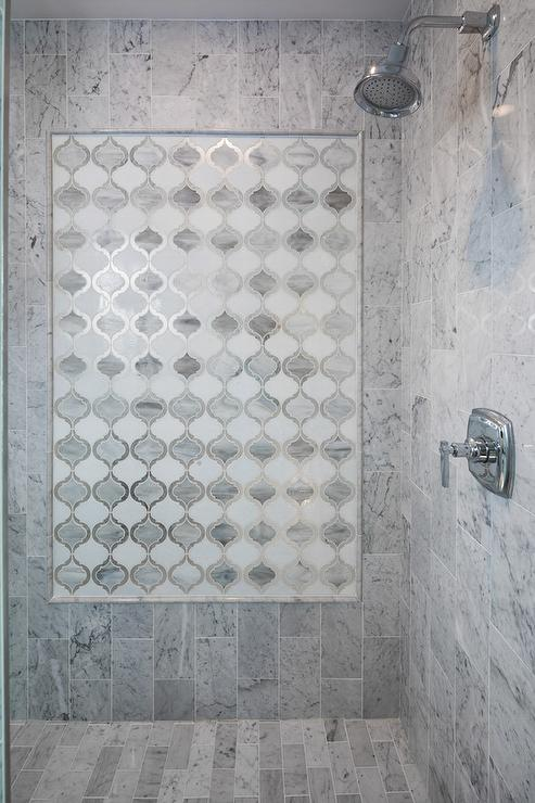 arabesque shower tiles design ideas