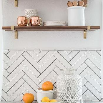 Half Tiled Kitchen Walls Design Ideas