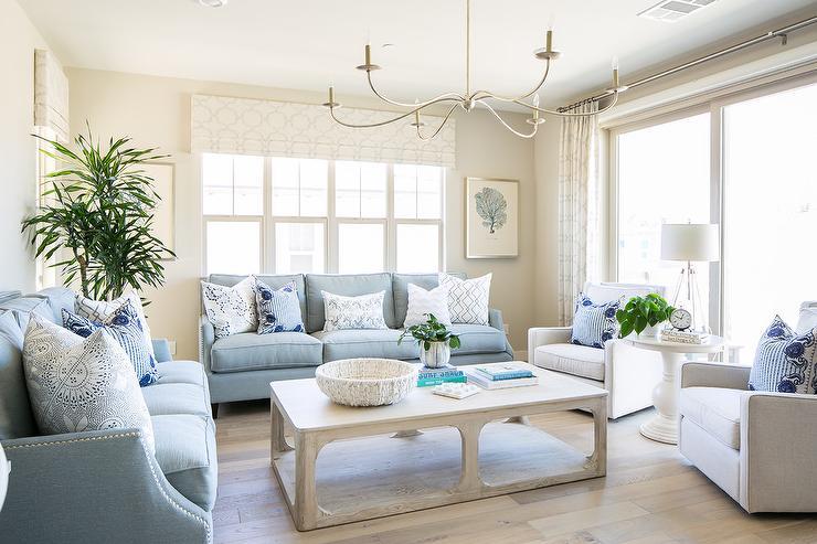 Two Living Room Sofas Design Ideas