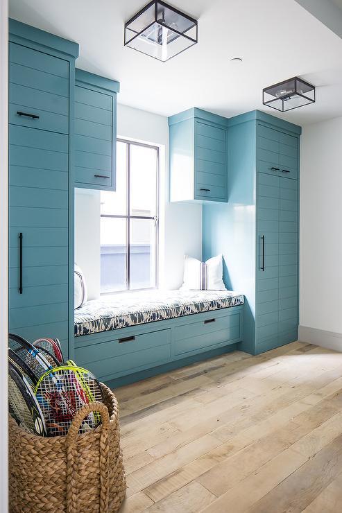 Blue Shiplap Ceiling Design Ideas