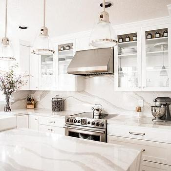 Farmhouse Sink With Pull Out Faucet Transitional Kitchen Sherwin Williams Pure White