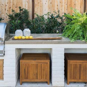 space saving patio storage design ideas