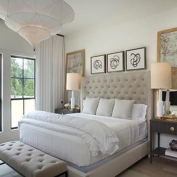 mirrors above nightstands design ideas