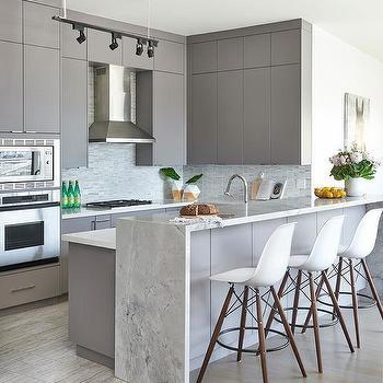 kitchen peninsula lighting design ideas