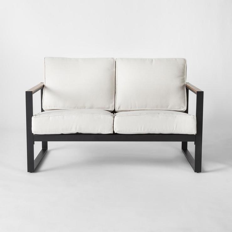 project 62 henning white cushion black