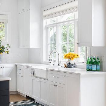 white porcelain farmhouse sink design ideas