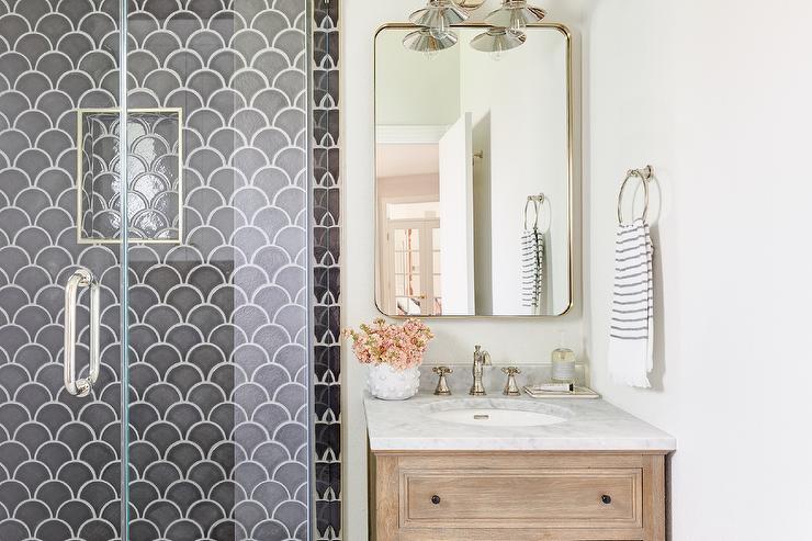 mermaid wall tiles design ideas