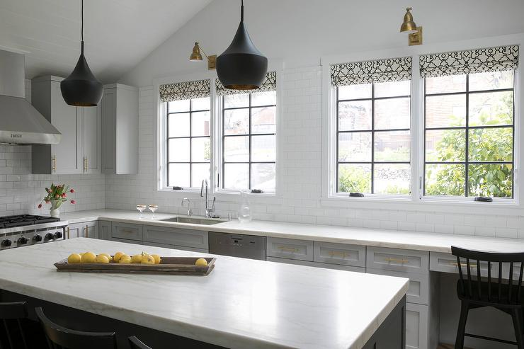 library light over kitchen sink design