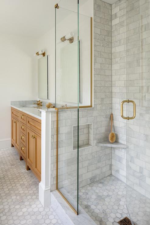 stainless steel shower door trim design