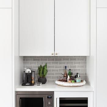 under counter microwave design ideas