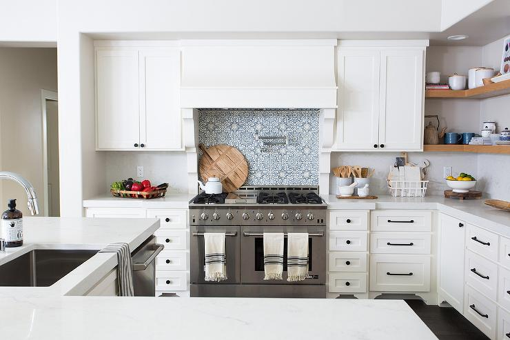 L Shaped Kitchen Island With Sink Transitional Kitchen