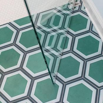 black hex tiles design ideas
