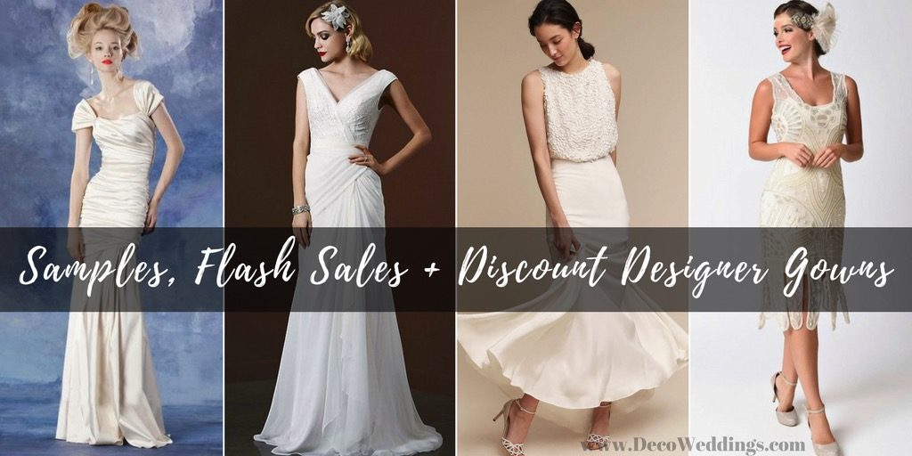 Sample Sale Vintage Inspired Bridal Gowns