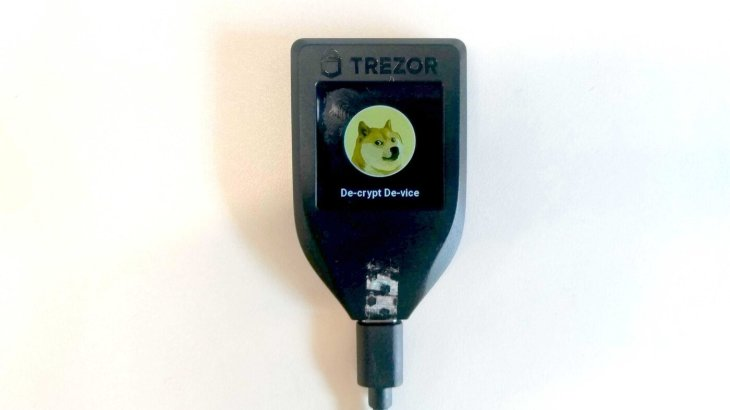 Carteira de hardware Trezor Model T