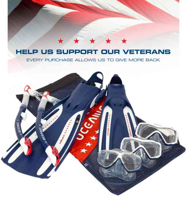 Oceanic Launches USA Product Line to Demonstrate Commitment to Veterans scuba equipment  wounded warriors veterans USA Product Line scuba diving Oceanic