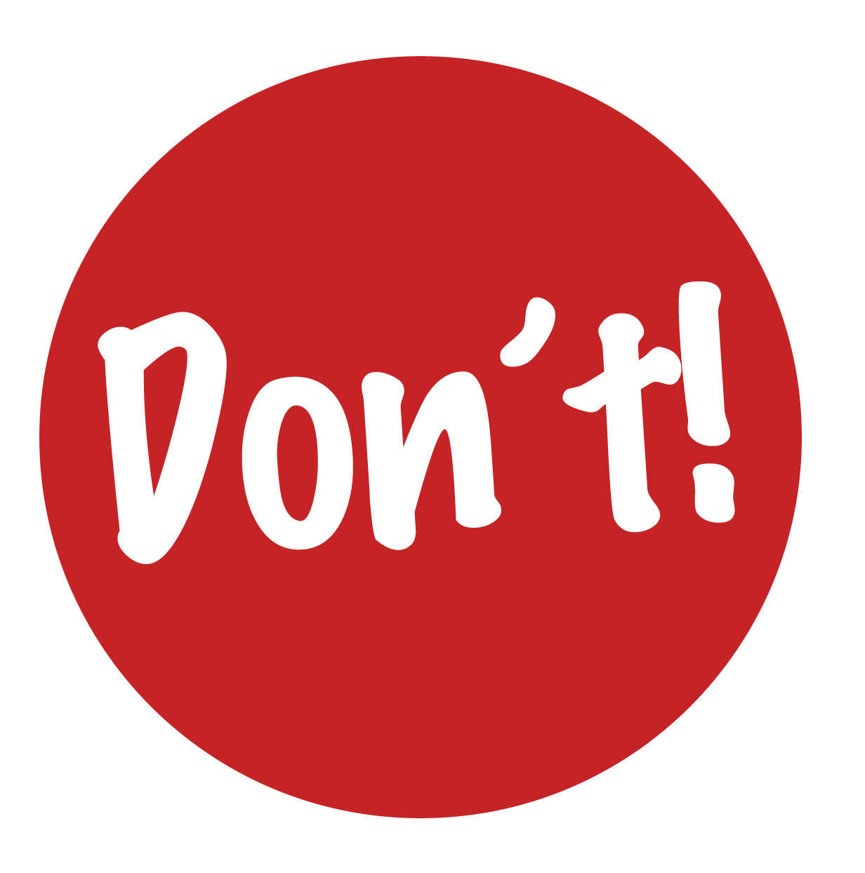Image result for don't