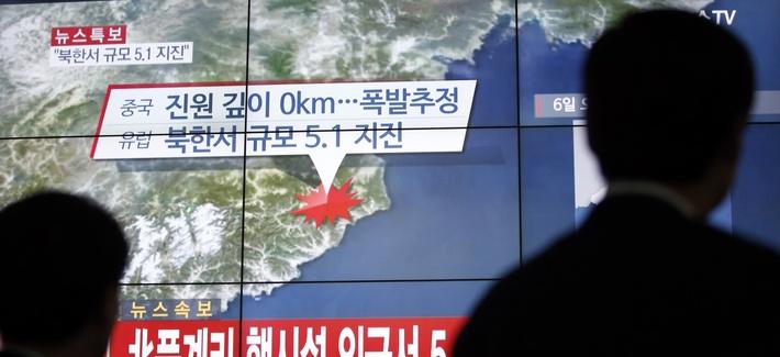 north korea bomb report