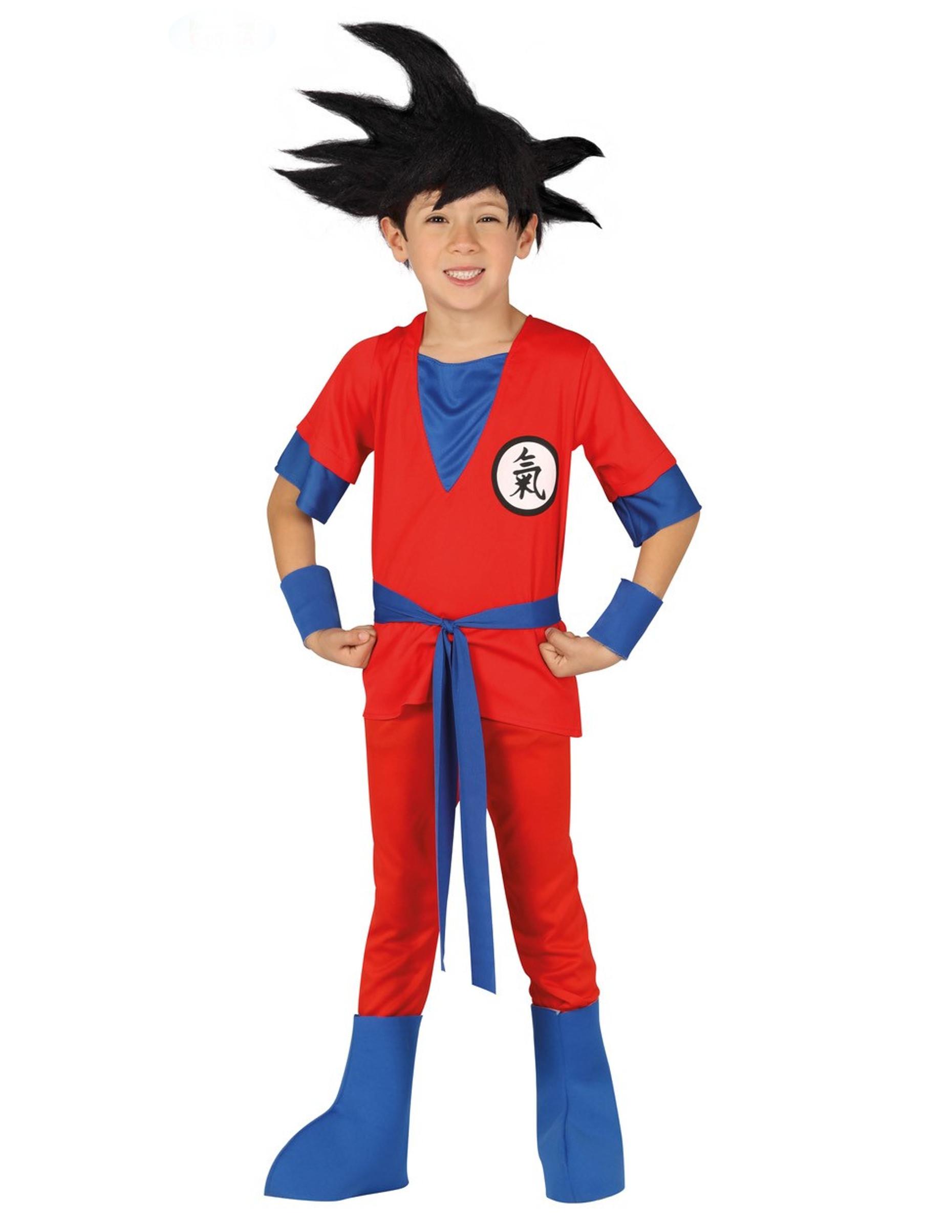 deguisement de ninja manga rouge garcon