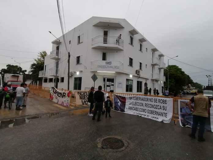 Se cumplen 24 horas de la sesión del IEQROO para validar la elección del 6 de junio en Solidaridad