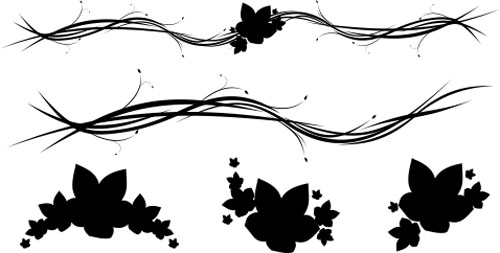 30 Free SwirlCurly And Floral Vectors For Designers