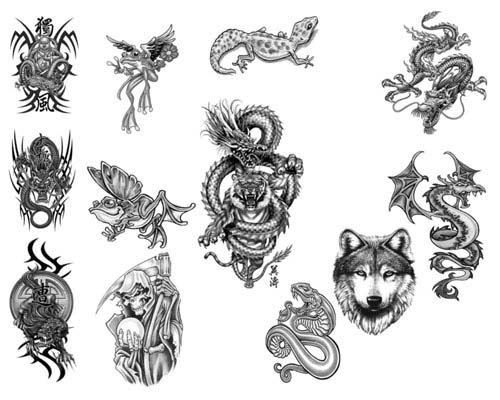 Huge Collection Of High Quality Free Tattoo Brushes For ...