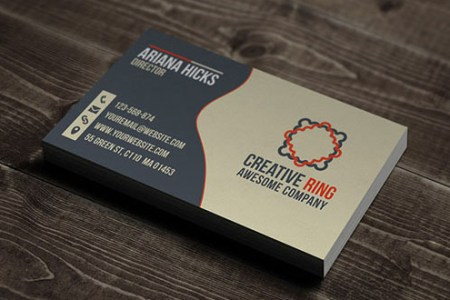 50 New and Absolutely Free Business Card Templates  PSD    Designbeep business card template