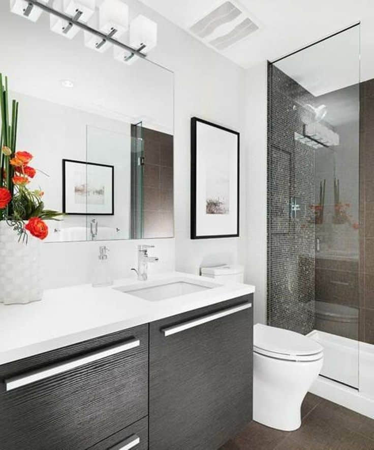 30 Modern Bathroom Designs -DesignBump on Modern Small Bathroom  id=79307